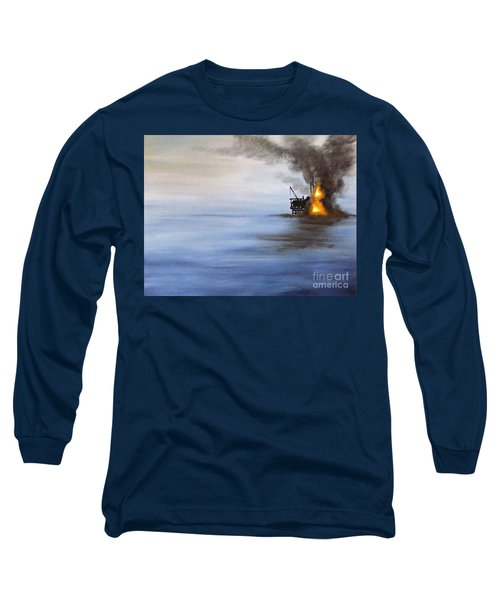 Water And Air Pollution Long Sleeve T-Shirt