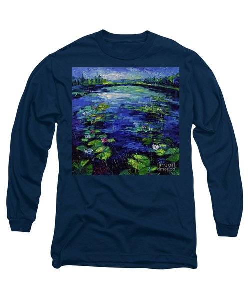 Water Lilies Magic Long Sleeve T-Shirt