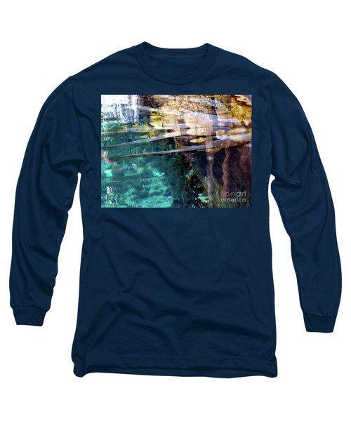 Long Sleeve T-Shirt featuring the photograph Water Reflections by Francesca Mackenney