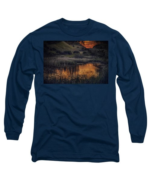 Waterbird Preserve Sunrise Long Sleeve T-Shirt