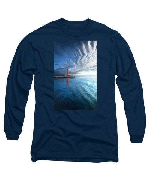 Long Sleeve T-Shirt featuring the photograph We Wait by Phil Koch