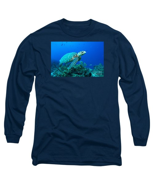 West Caicos Traveler Long Sleeve T-Shirt by Aaron Whittemore