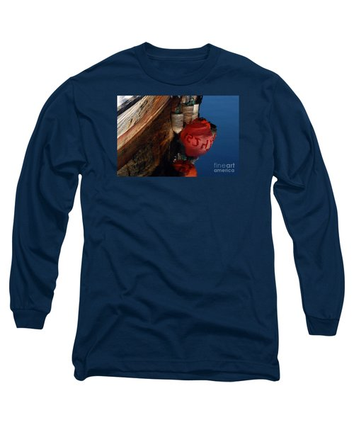Bouy Reflection Long Sleeve T-Shirt by Chuck Flewelling
