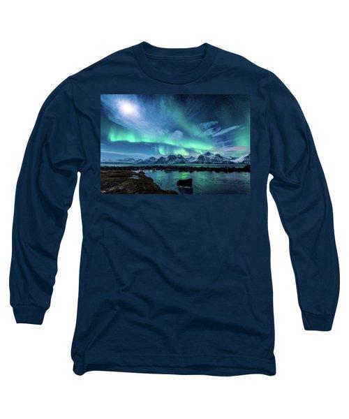 When The Moon Shines Long Sleeve T-Shirt