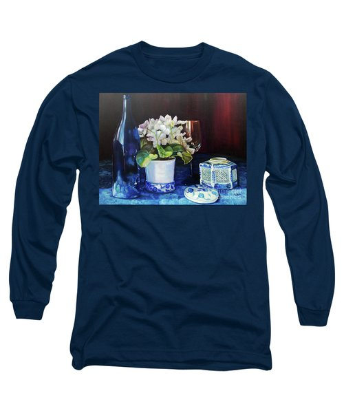 White African Violets Long Sleeve T-Shirt
