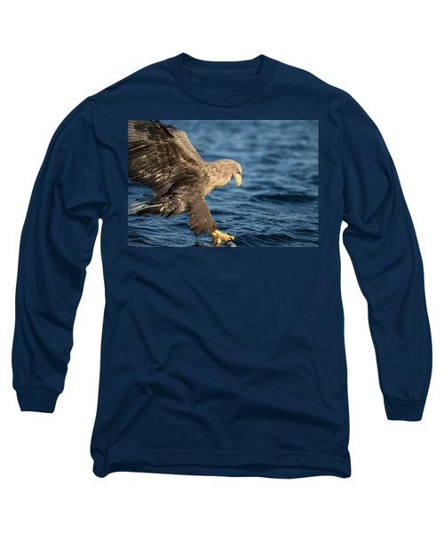White-tailed Eagle Hunting Long Sleeve T-Shirt