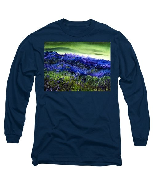 Wild Lavender Long Sleeve T-Shirt