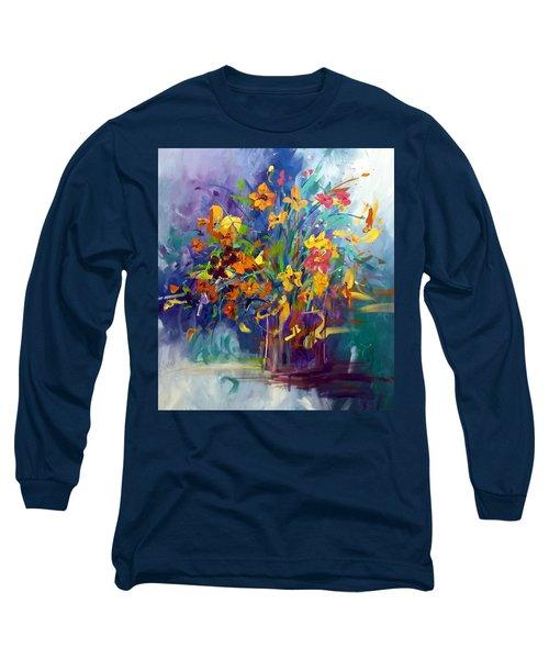 Wildflowers Long Sleeve T-Shirt by Terri Einer