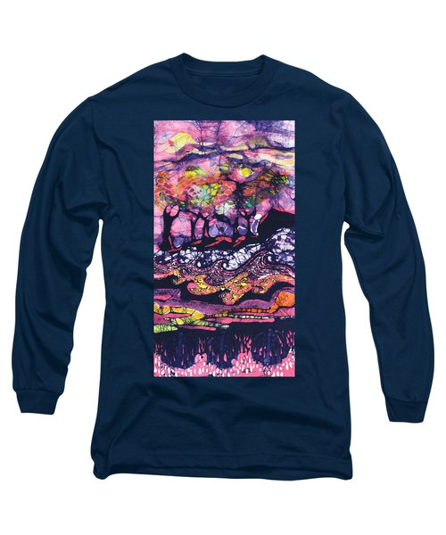 Wind And Waves Long Sleeve T-Shirt