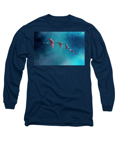 Wind Surfing Long Sleeve T-Shirt