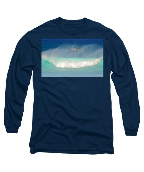 Windsurfer In The Spray Long Sleeve T-Shirt