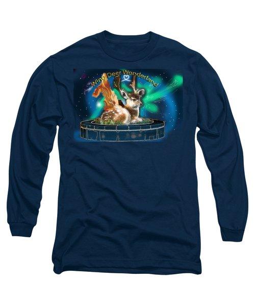 Wing Deer Long Sleeve T-Shirt