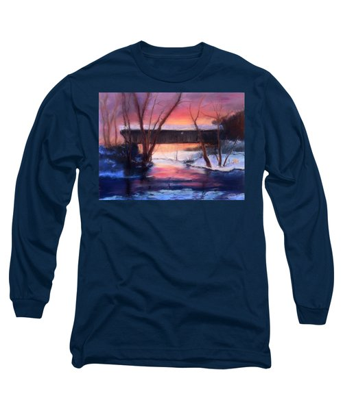 Winter At Bennett's Mill Long Sleeve T-Shirt