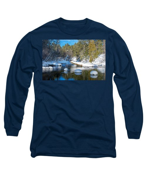 Winter Blues Long Sleeve T-Shirt