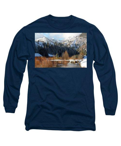 Winter I Big Cottonwood Canyon  Long Sleeve T-Shirt