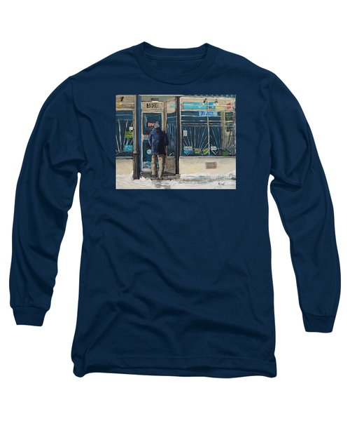 Winter In The City Long Sleeve T-Shirt