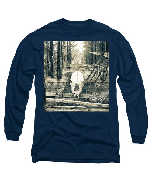 Winter In The In The Woods Long Sleeve T-Shirt