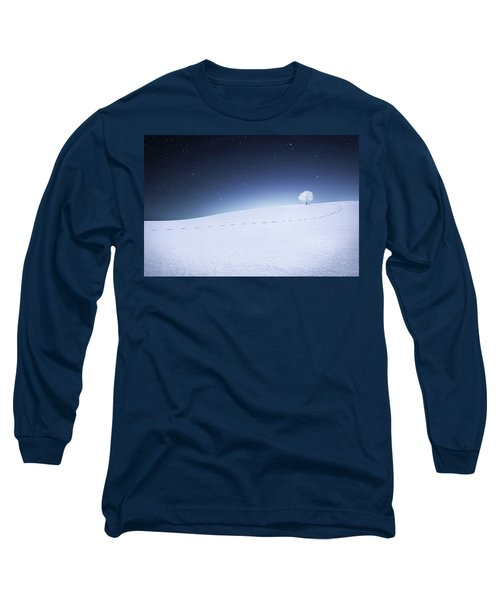 Long Sleeve T-Shirt featuring the photograph Winter Landscape by Bess Hamiti