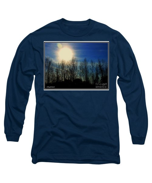 Winter Morning Long Sleeve T-Shirt by MaryLee Parker