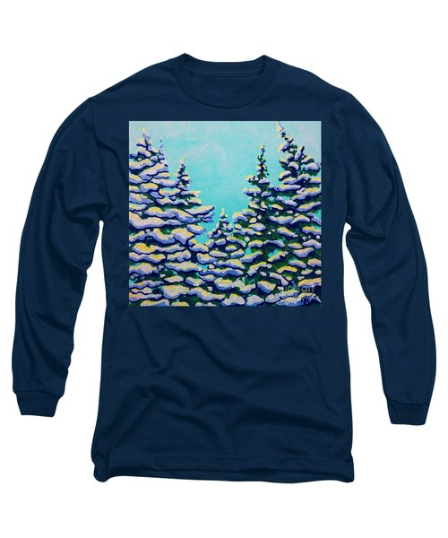 Winter Pines Long Sleeve T-Shirt
