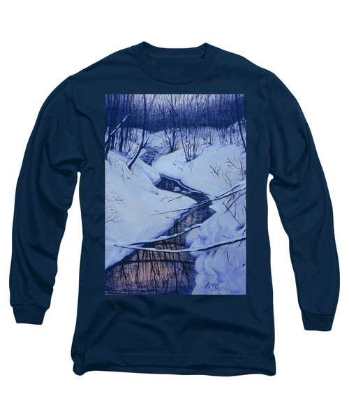 Winter's Stream Long Sleeve T-Shirt