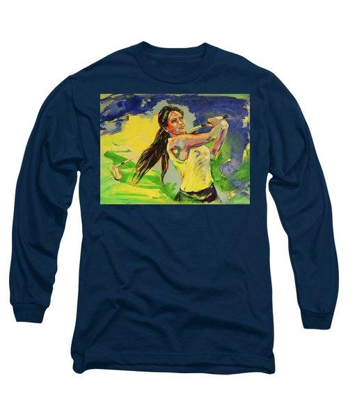 Wird Es Das Grun Erreichen  Will It Reach The Green Long Sleeve T-Shirt by Koro Arandia