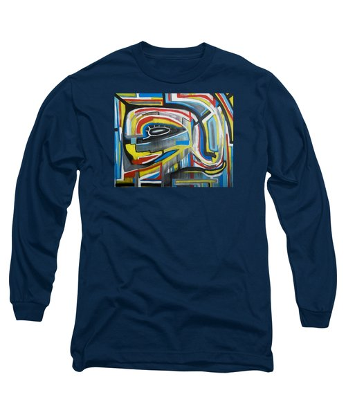 Wired Dreams  Long Sleeve T-Shirt by Jose Rojas