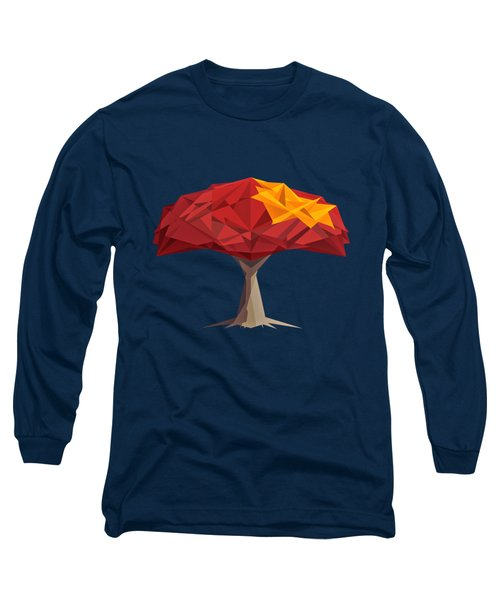 Wired Tree  Long Sleeve T-Shirt