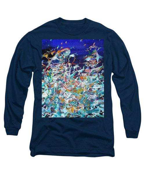Long Sleeve T-Shirt featuring the painting Wishes by Fabrizio Cassetta