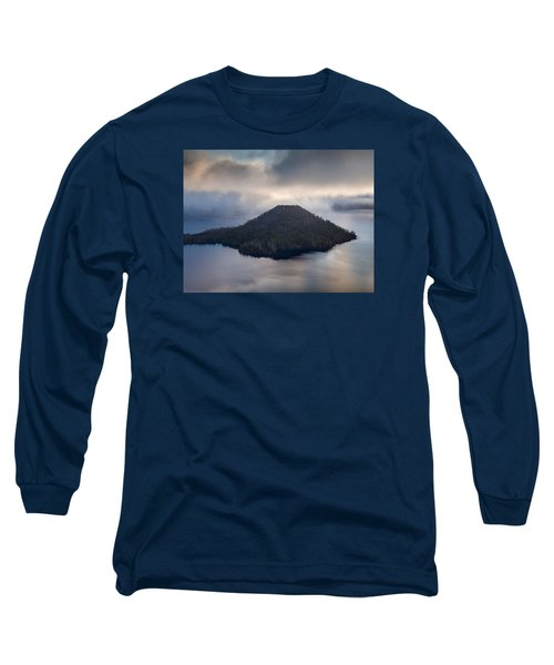 Wizard Among The Mists Long Sleeve T-Shirt by Greg Nyquist