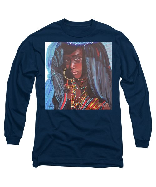 Virtuous Wodaabe Girl          From The Attitude Girls  Long Sleeve T-Shirt
