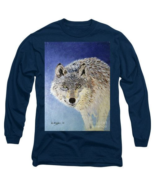 Wolf Study Long Sleeve T-Shirt