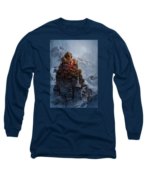 Wonders Holy Temple Long Sleeve T-Shirt by Te Hu
