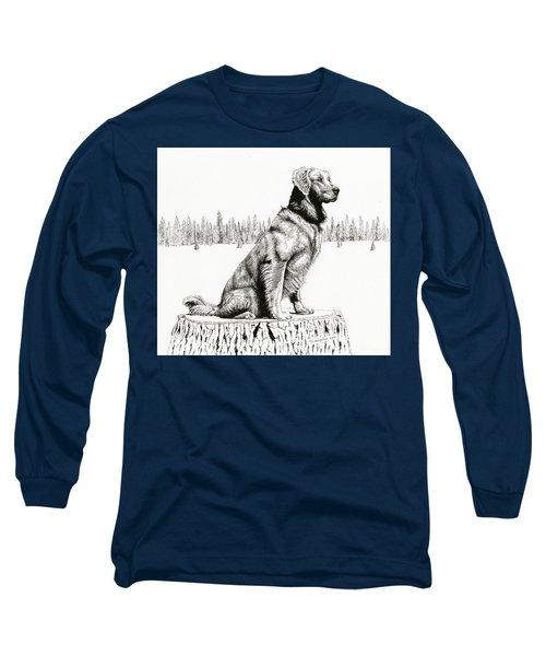 Woods Dog Long Sleeve T-Shirt