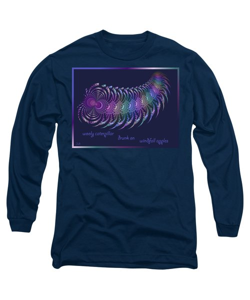 Wooly Caterpillar Haiga Long Sleeve T-Shirt