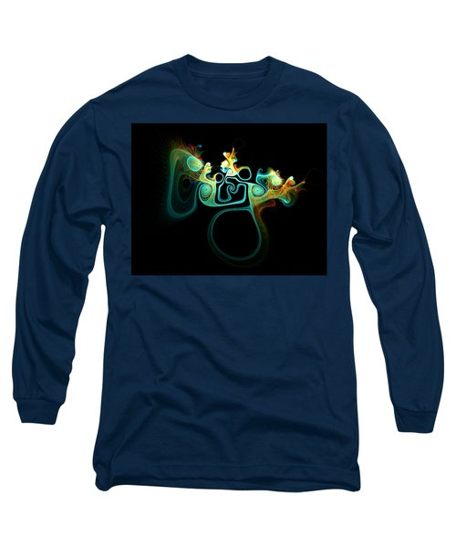Wot's Going On In Ear Long Sleeve T-Shirt