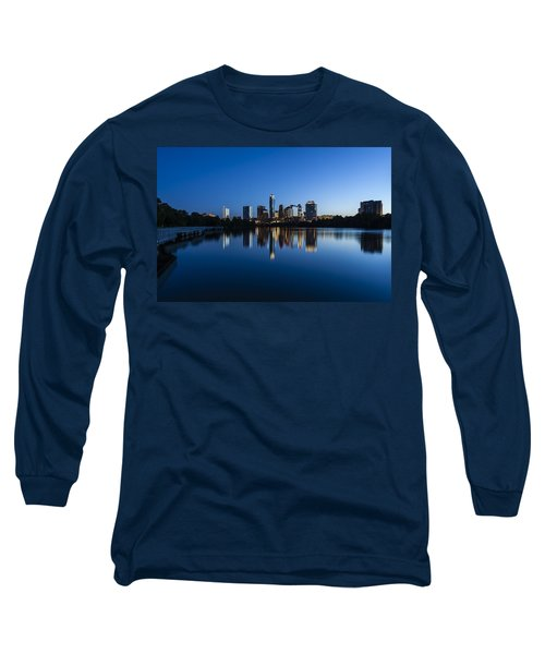Wrapped In Blue Long Sleeve T-Shirt