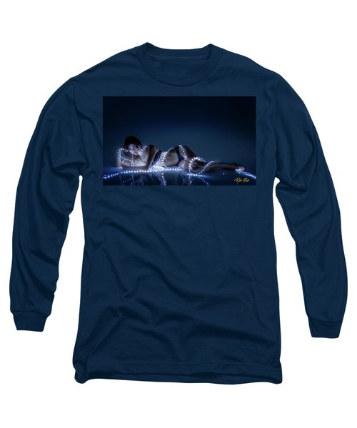 Long Sleeve T-Shirt featuring the photograph Wrapped In Light by Rikk Flohr