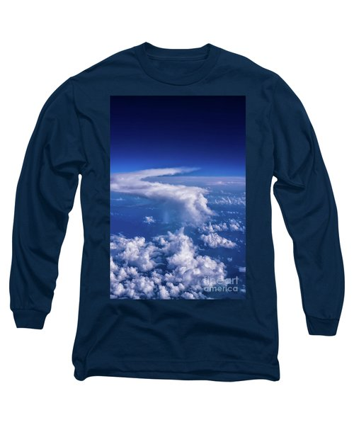 Writing In The Sky Long Sleeve T-Shirt