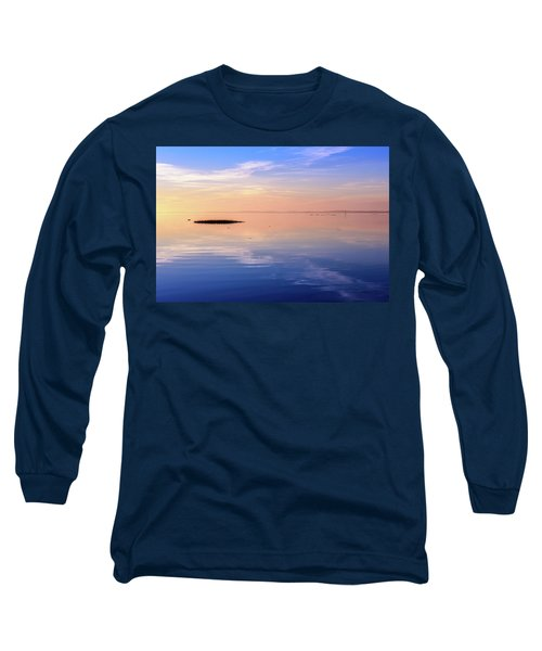 Xtra Blue Long Sleeve T-Shirt by Thierry Bouriat