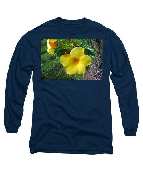 Yellow Beauty Long Sleeve T-Shirt