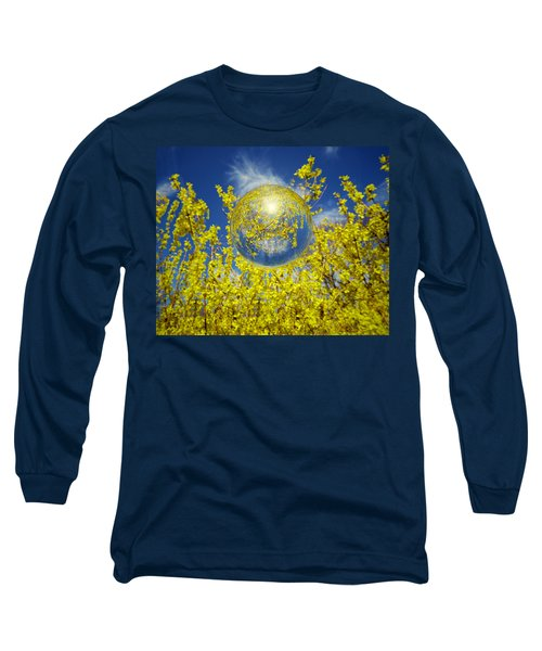 Long Sleeve T-Shirt featuring the photograph Yellow by Robert Geary