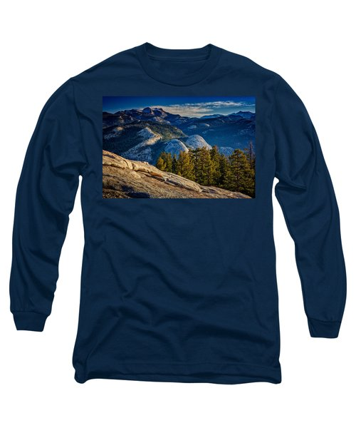 Yosemite Morning Long Sleeve T-Shirt by Rick Berk