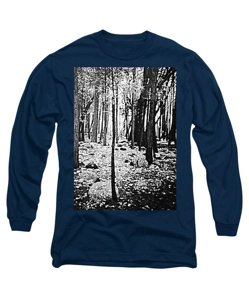 Yosemite National Park Long Sleeve T-Shirt by Debra Lynch