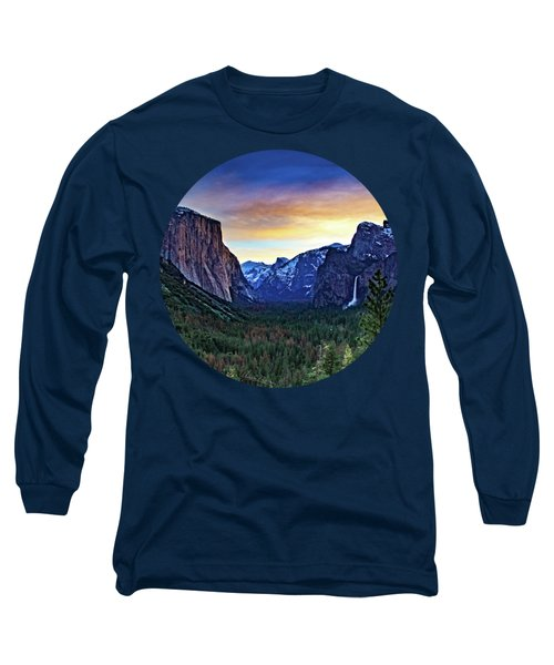 Yosemite Sunrise Long Sleeve T-Shirt