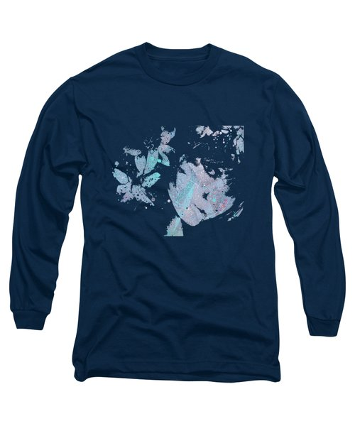 You'll See - Blue Long Sleeve T-Shirt by Marco Paludet