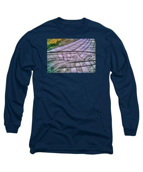 Long Sleeve T-Shirt featuring the drawing Yury Bashkin Net by Yury Bashkin