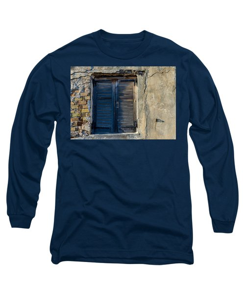 Zakynthos Town Window Long Sleeve T-Shirt