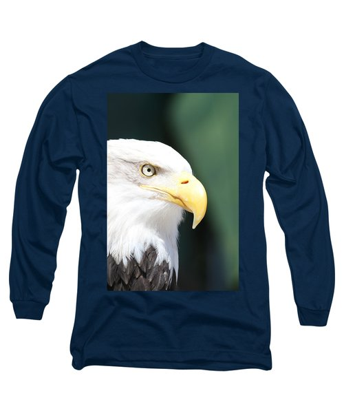 Long Sleeve T-Shirt featuring the photograph Zeroed In by Laddie Halupa