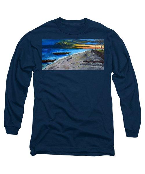 Zombie Island Long Sleeve T-Shirt